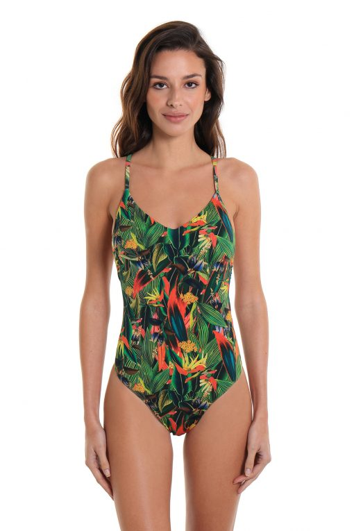 One-Piece Swimsuit São Conrado Tropicale