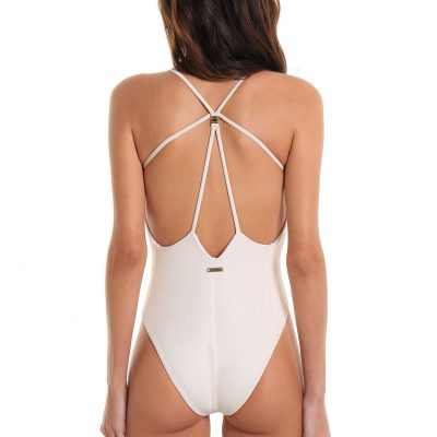 One-Piece Swimsuit Grumari Toasted Coconut