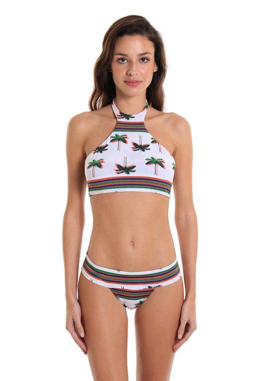 Bikini Two-Piece Swimsuit Copacabana Sandy Palm Tree