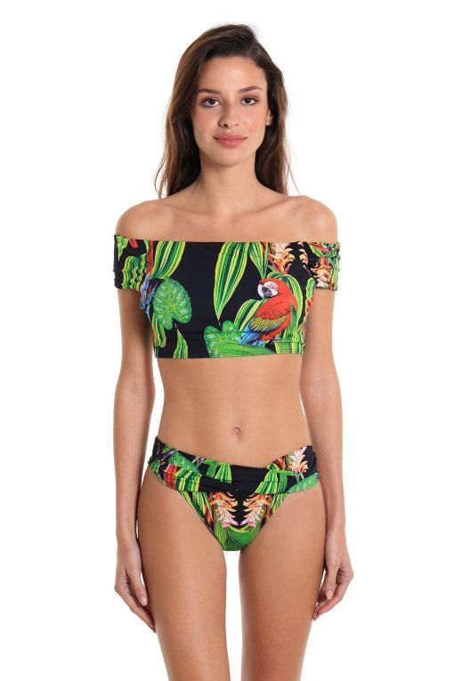 Bikini Two-Piece Swimsuit Leblon Parrot