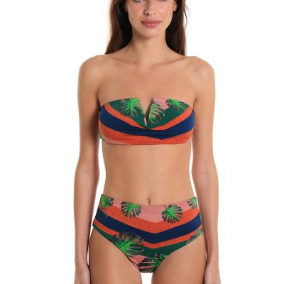 Bikini Two-Piece Swimsuit Ipanema Ocean Jungle